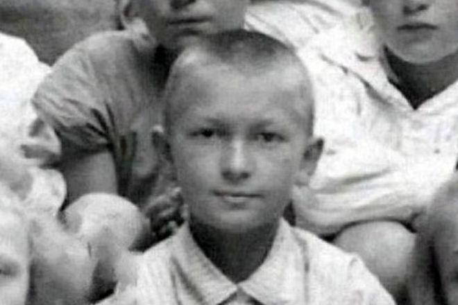 Георгий Вицин в детстве