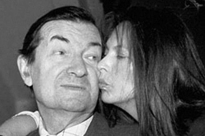 Георгий Вицин с дочерью
