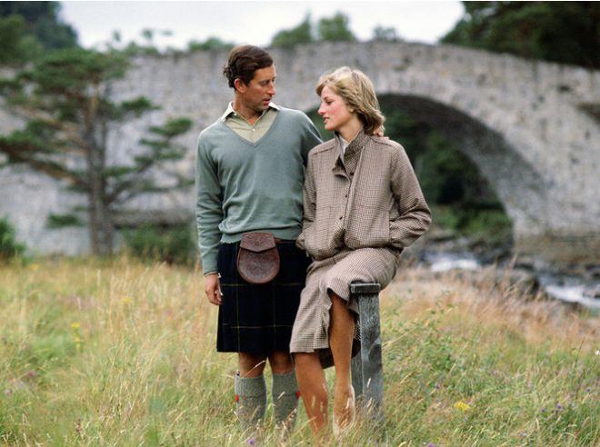 Медовый месяц Чрльза и Дианы