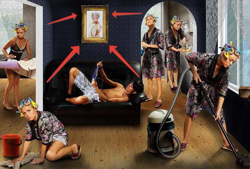 Смешные картинки муж работает