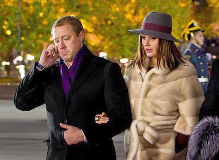 Оксана Федорова и Андрей Бородин. / Фото: www.fb.ru