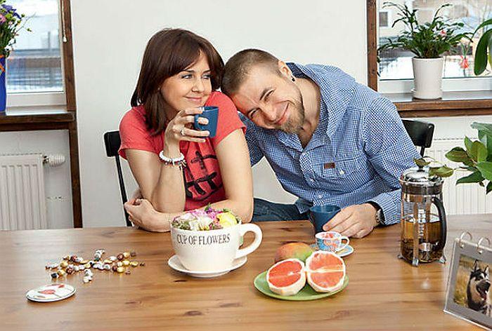 Ольга Шелест и Алексей Тишкин. / Фото: www.neverojatno-no-fact.ru