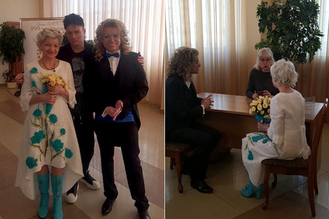 Свадьба Гогена Солнцева и Екатерины Терешкович